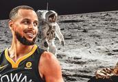 """NBA巨星""""萌神""""库里又在卖萌了,不信人类登月"""
