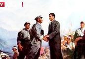 1948年4月,毛主席率领的部队在井冈山与朱德胜利会师