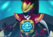 神兽金刚:黑怪的话提醒了神兽战队,神兽金刚合体攻击巨茧!