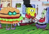 《海绵宝宝》蟹老板和章鱼哥跪求顶级厨师海绵宝宝回去当厨师!