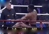 5次世界冠军被中国勇士暴打,KO的瞬间 现场拳迷都激动不已
