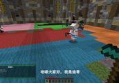 我的世界小游戏242:在派对游戏中,迪哥遇到雪崩,被砸晕了!