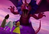 苏菲亚去水晶岛寻找邪恶水晶工匠,安博敲碎桥梁遇险
