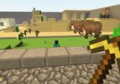 GMOD游戏 绿巨人想吃大象肉会得逞吗