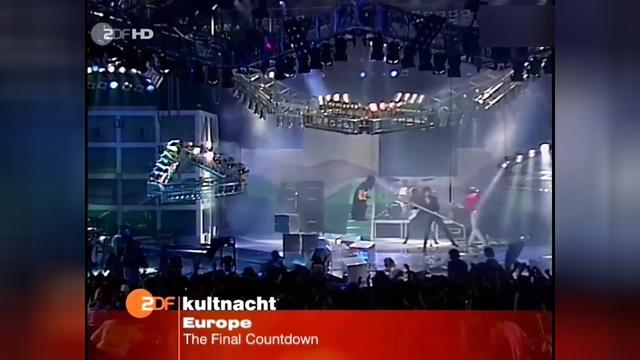 The Final Countdown 《ZDF TV Show》 现场版-Europe-UHD