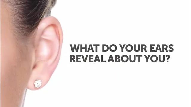 无字幕英语:What your ears reveal about you!