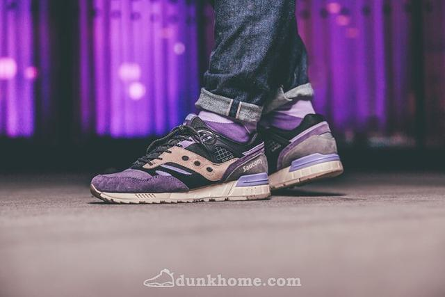"Saucony Grid SD ""紫雾"""
