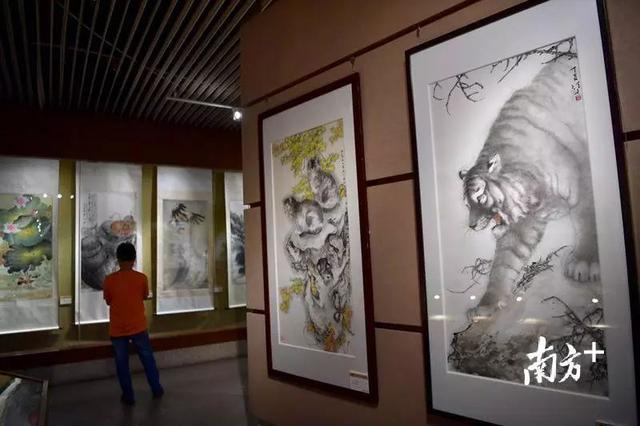 "Lingnan School painters hold exhibition in GZ 华人岭南画派画家""回家""联展"