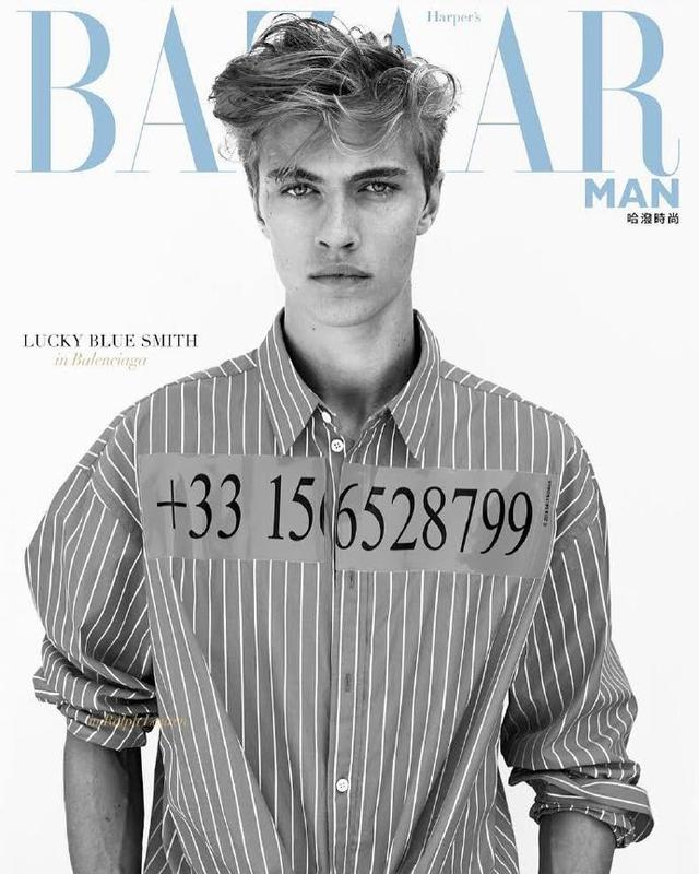 Lucky Blue Smith For Harper~s BAZAAR MAN TW 2018|九月号