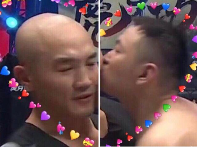 2020年首个迷惑行为:药水哥在格斗擂台上强吻一龙...