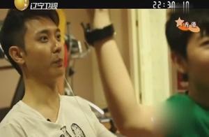 张丹峰化身教练督促洪欣儿子锻炼身体,健身房父子欢声笑语成回忆
