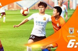 中超预备队联赛武汉卓尔0-6山东鲁能,郭田雨或因回避未登场