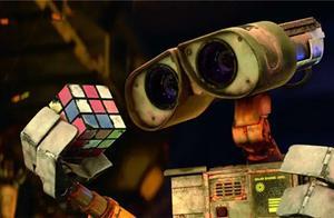 《机器人总动员》,叙说了不同于人类间那另类的爱情?