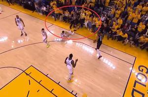 保罗和裁判发生身体接触,NBA TV讨论是否会被禁赛