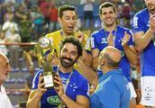 巴西排球杯赛男子组,克鲁塞罗3:0击败米纳斯历史第四次捧杯!