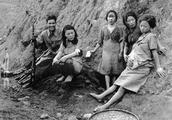 日本不许发表的罪证老照片,图3是慰安妇,图6是慰安所前的畜生