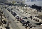 彩色老照片:1945年抗战胜利后的上海滩